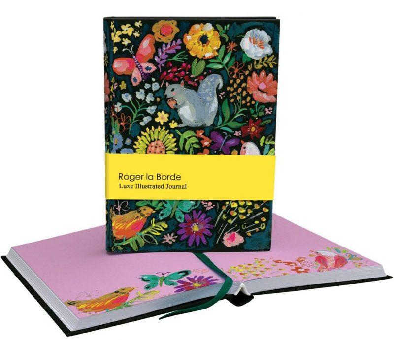 quaderno-rigido-diario-notebook-notes-happy-shop-animali-animaletti-bosco-animals-animal-fiori-fiore-flowers-flower-quadernino-appunti