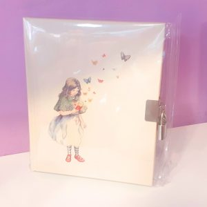 quaderno-rigido-diario-notebook-notes-happy-shop-lockable-ragazza-girl-farfalla-farfalle-chiusura-chiave-quadernino-appunti