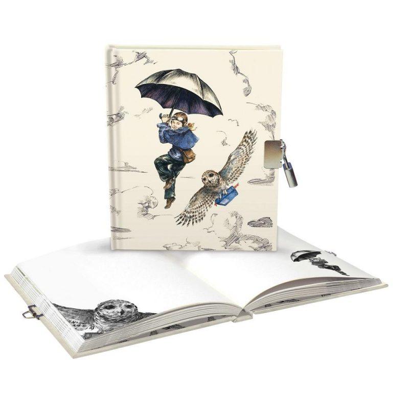 quaderno-rigido-diario-notebook-notes-happy-shop-lockable-ragazza-girl-summer-time-relax-tempo-estate-chiusura-chiave-quadernino-appunti