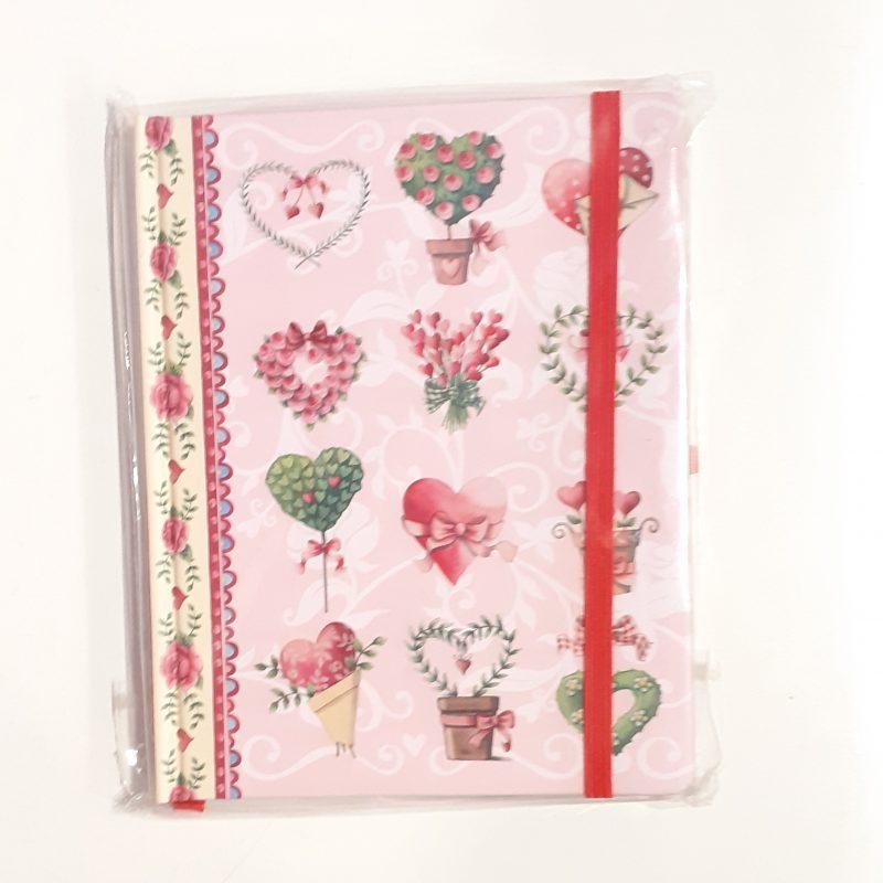 diario-diary-notebook-quaderno-quadernino-personale-rosa-pink-fiori-fiore-appunti-