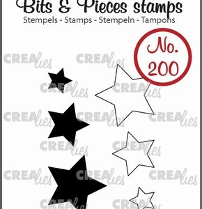 timbri-silicone-clear-stamp-crealies-bits-pieces-stars-stelle