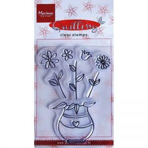 timbri-silicone-clear-stamp-marianne-design-flowers-fiori