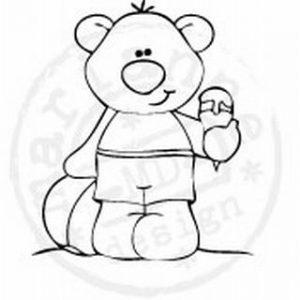 timbri-silicone-clear-stamp-marianne-design-orso-bear-gelato-ice-cream