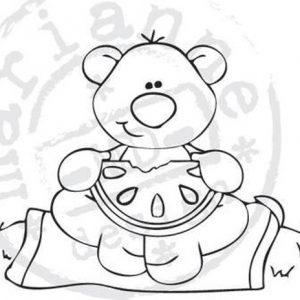 timbri-silicone-orso-con-cocomero-marianne-design