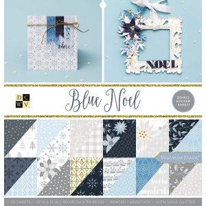 carta-carte-blocco-paper-scrap-scrapbooking-scrapbook-biglietti-explosion-box-creativa-diy-craft-dcwv-noel-blue-christmas-natale-blu