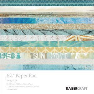 carta-carte-blocco-paper-scrap-scrapbooking-scrapbook-biglietti-explosion-box-creativa-diy-idee-kaisercraft-sabbia-mare-conchiglie
