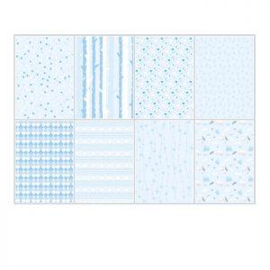 Cartoncini di colore azzurro chiaro per scrap booking