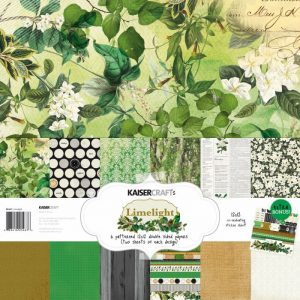 Cartoncini verdi sulla natura per scrap booking