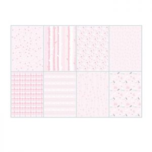 Cartoncini di colore rosa chiaro per scrap booking