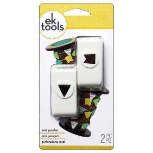 Perforatore per forare la carta a forma di bandierine