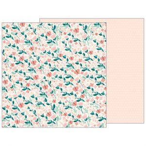Carte Scrap Fiori Farfalle e Pois Rosa