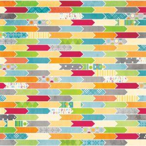 Carte Scrap Frecce Colorate