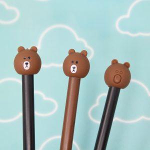penna-biro-orso-orsetto-marrone