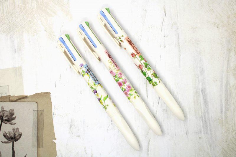 Penne Pen Multicolore Fiori Primavera