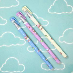 Penne Pen Cancellabili Kawaii