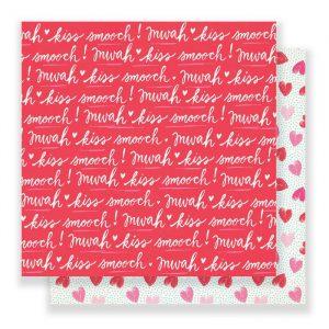 Carte Scrap Scritte Amore e Cuori