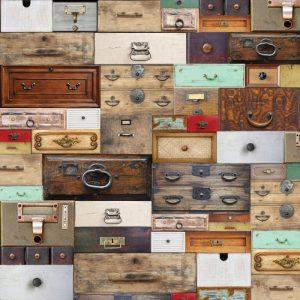 Carte Scrap Cassetti Vintage